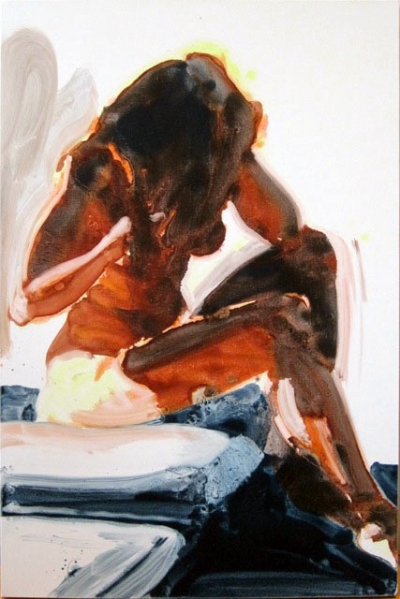 """Untitled"" by Eric Fischl, 2010. Oil on linen, 48 x 32 inches."